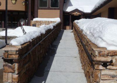 Big Bear Lake City Hall Ramp Handrail