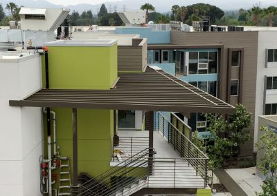 Cal State Northridge Architectural Metal Work