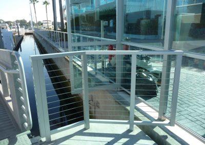 Esprit Marina Del Rey CA Cable Railing