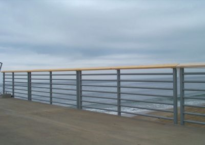 Hermosa Beach Pier Multi-Line Railing