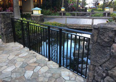 Hilton Hawaiian Gardens Gates and Custom Fabrications