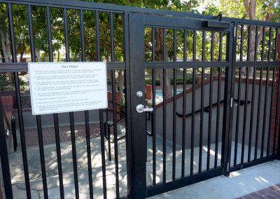 Irvine HOA Gates and Custom Fabrications