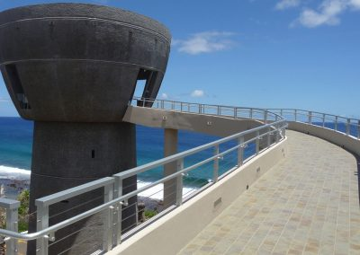 Latte of Freedom Guam Cable Railing