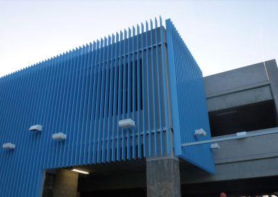 Metro Station Architectural Metal Work