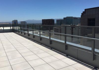 One South Market San Jose CA Glass Railing