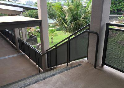 Punahou School HI Ramp Handrail