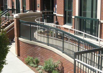 San Jose St. Univ. Ramp Gates and Custom Fabrications