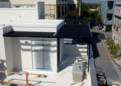 Santana Row, San Jose Architectural Metal Work