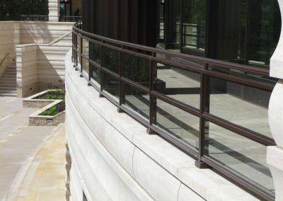 The Century Glass Railing
