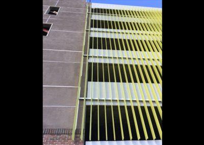 The Line Santa Ana, CA Architectural Metal Work